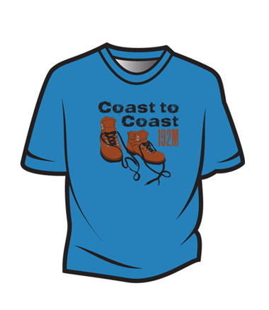 Blue Coast to Coast T-Shirt