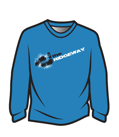 Blue The Ridgeway Design 1 Sweatshirt