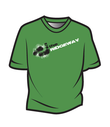 Green The Ridgeway Design 1 T-Shirt