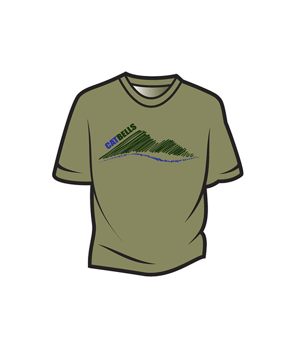 Khaki Cat Bells Kids T-Shirt