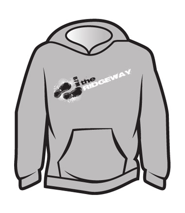 Light Grey The Ridgeway Design 1 Hoodie