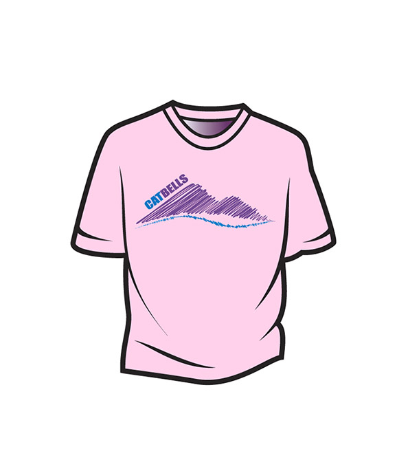 Pink Cat Bells Kids T-Shirt