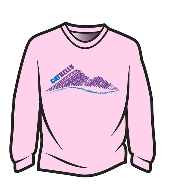 Pink Cat Bells Long Sleeve T-Shirt