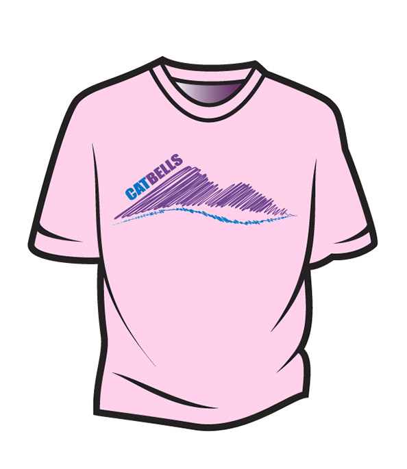 Pink Cat Bells T-Shirt